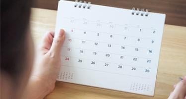 Atenção para o cronograma de dezembro